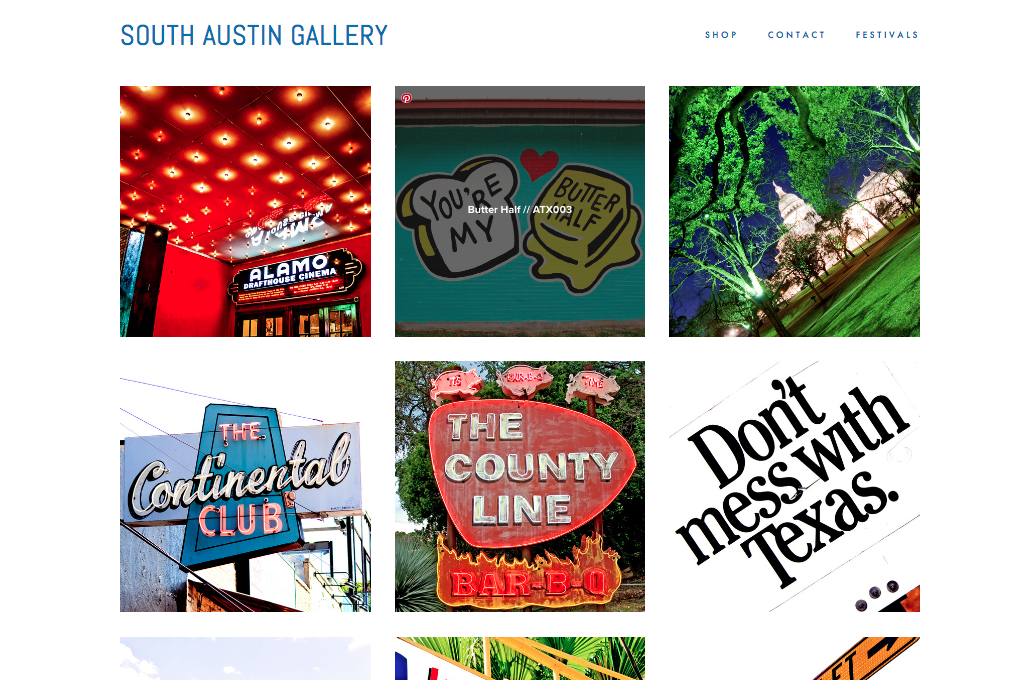 The Austin images in a random order