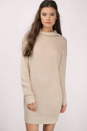 Tobi Up To It Sweater Dress
