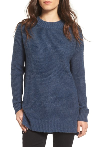 BP Ribbed Mock Neck Sweater