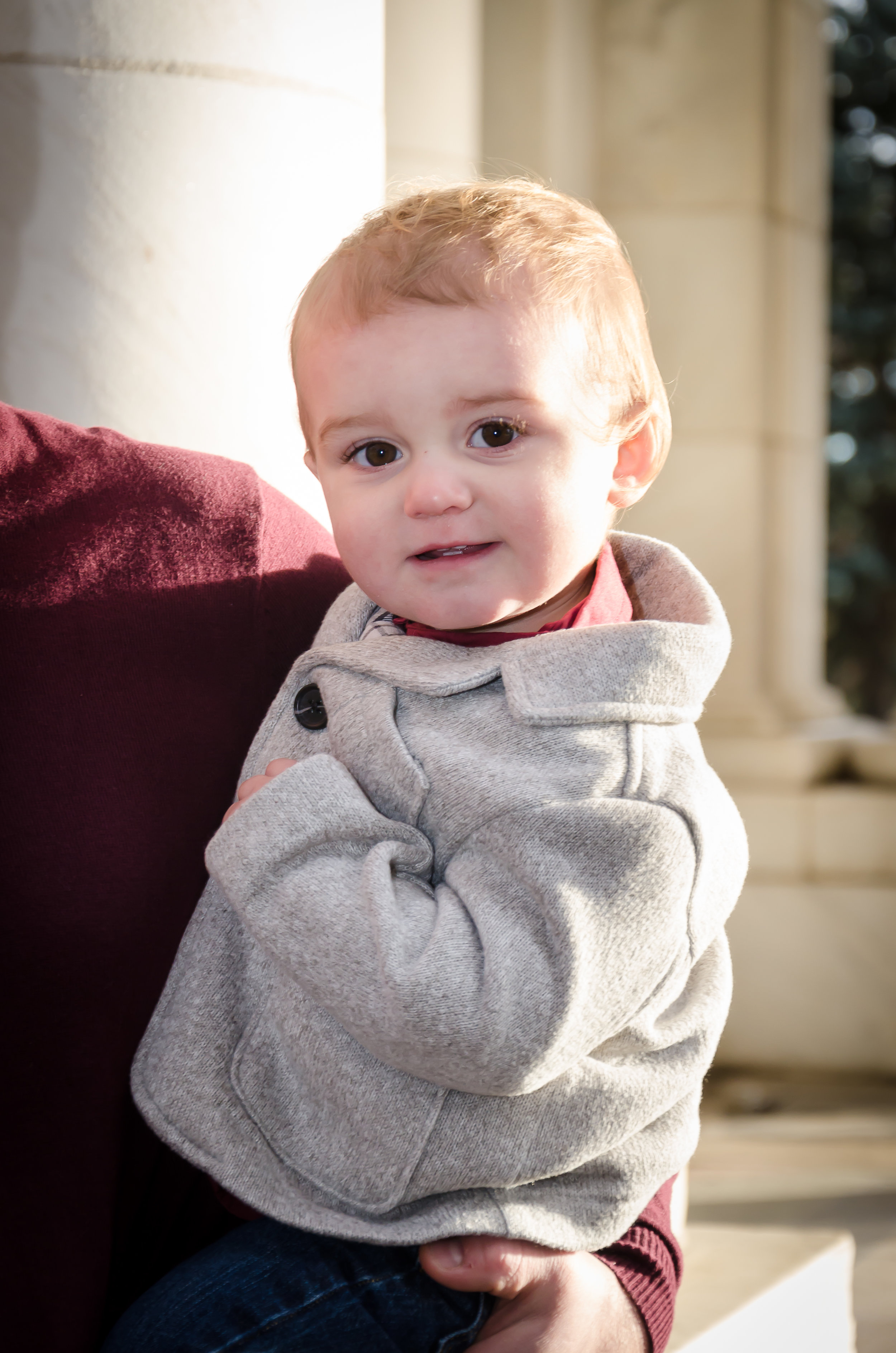 This picture does not do him justice, our little Theo is the darn cutest thing you ever did see! His smile and laughter light up a room, and his chubby cheeks are soooo edible!