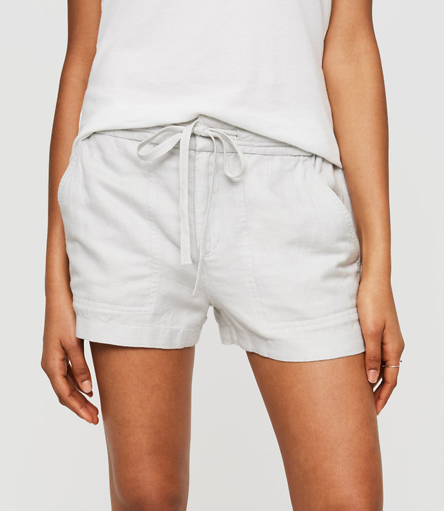 loue and grey linen shorts.jpg