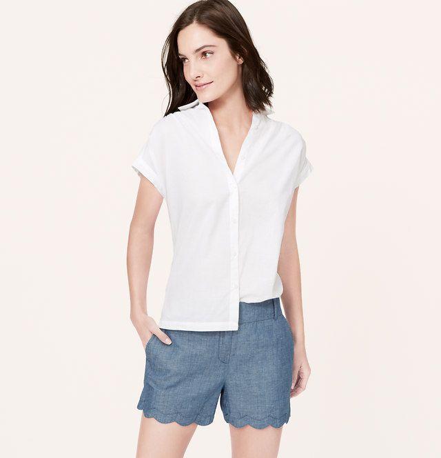 scalloped chambray shorts.jpg