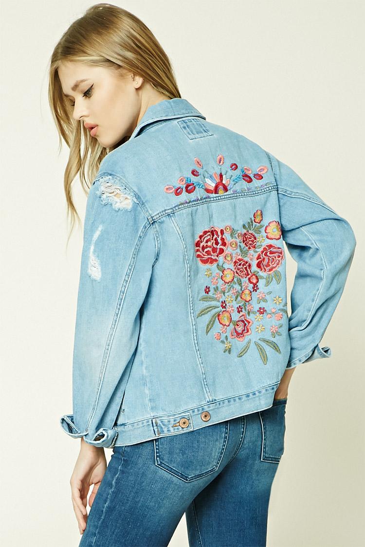 forever21 floral denim jacket.jpg