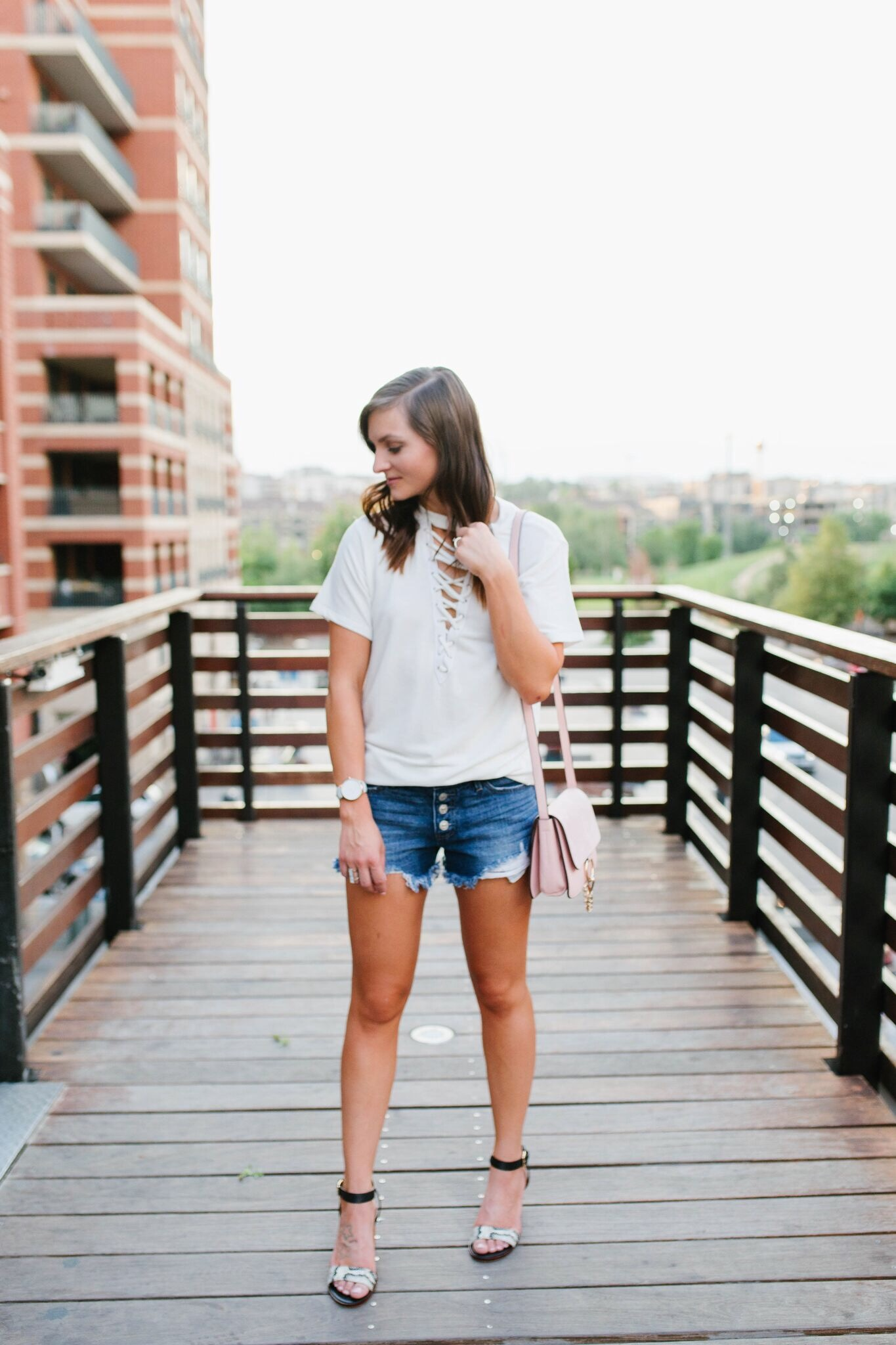 "<img src = ""four-ways-to-save-money-while-shopping.jpg"" alt = ""fashion-blogger-shares-tips-to-saving-money-while-shopping-while-styling-denim-cut-off-shorts"">"