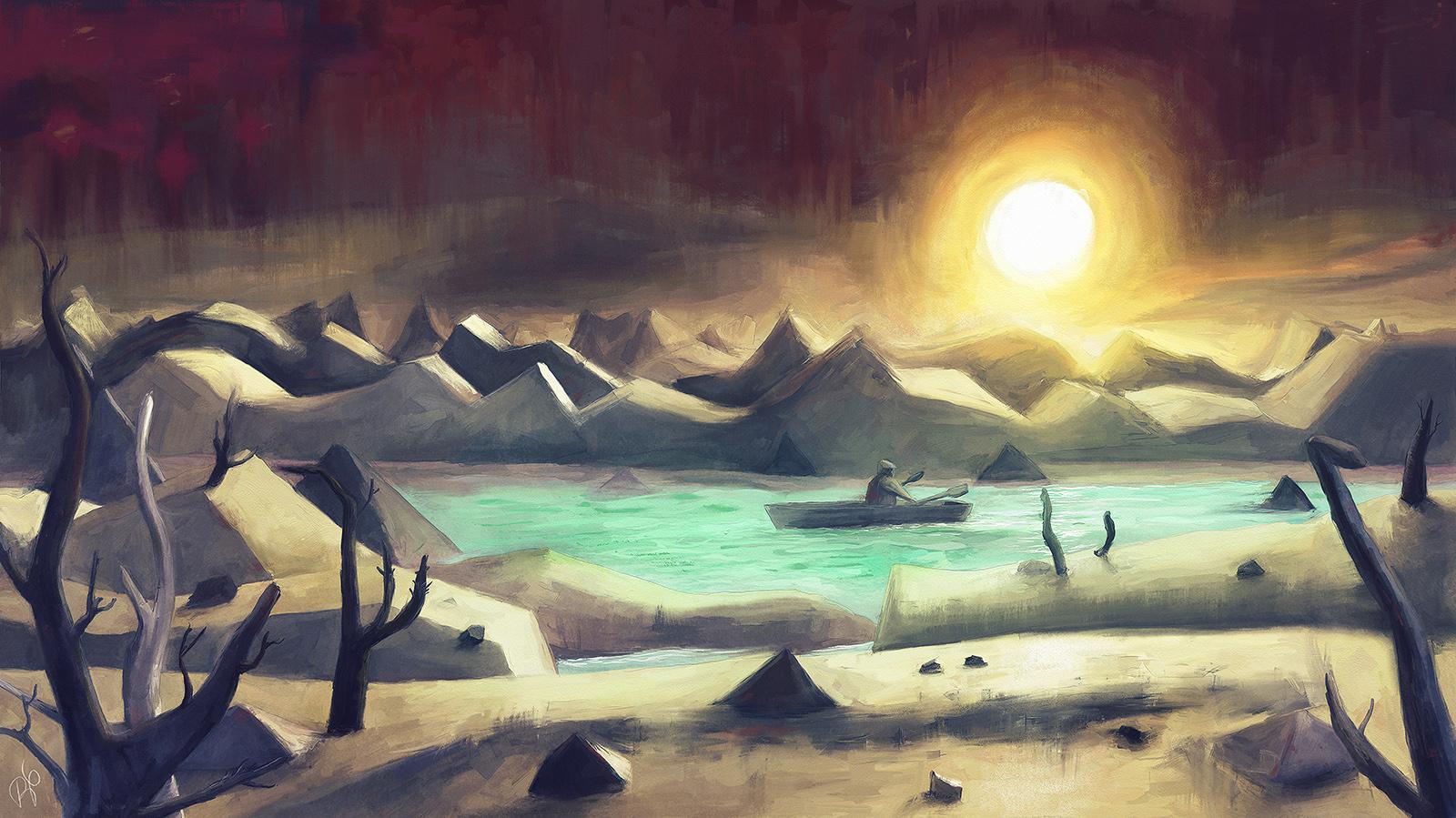 Solitude On Lake Cyanide