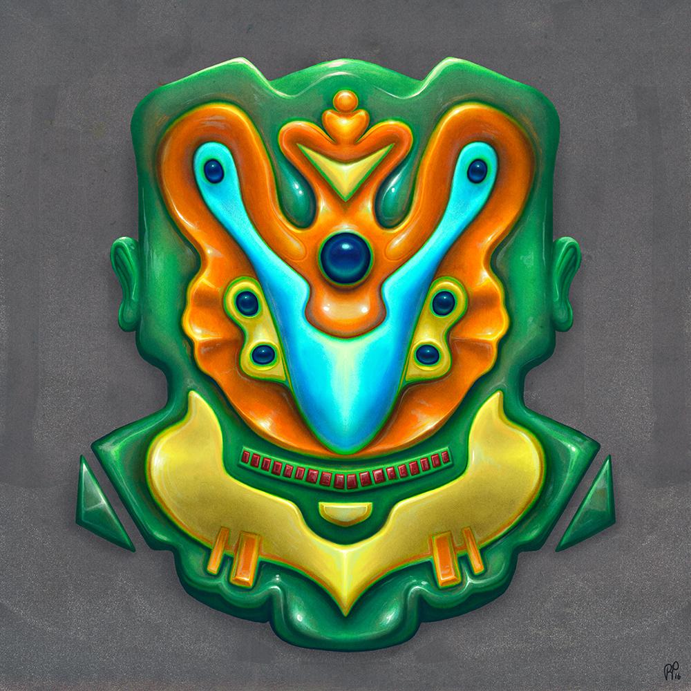 Summer Totem (Green)