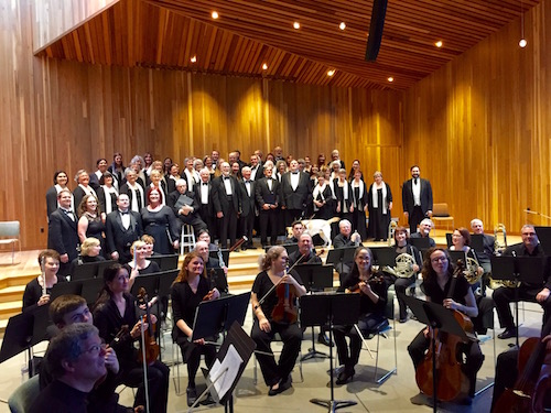 CASCADE CHORALE PERFORMING WITH MEMBERS FROM THE CENTRAL OREGON SYMPHONY