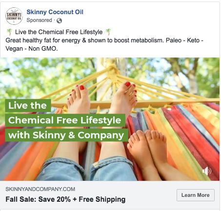Facebook Video Ad - Click to View