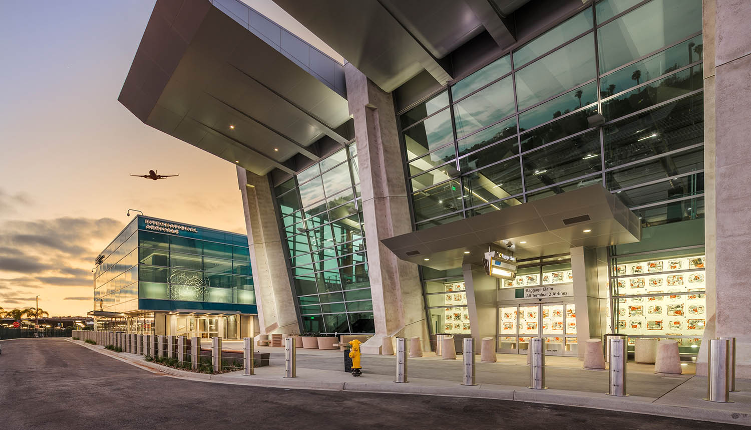 SDIA TERMINAL 2 WEST FEDERAL INSPECTION SERVICES Project Value: $229.4 M