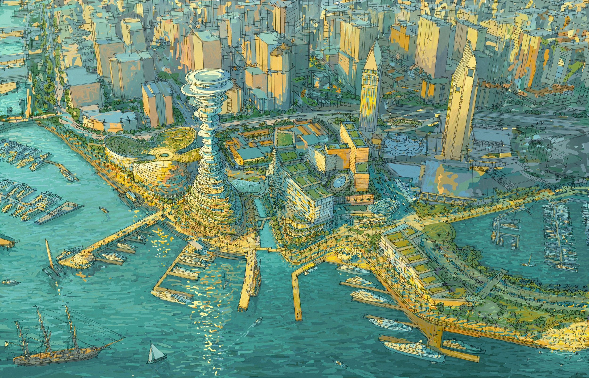 SEAPORT SAN DIEGO Project Value: $2.4B