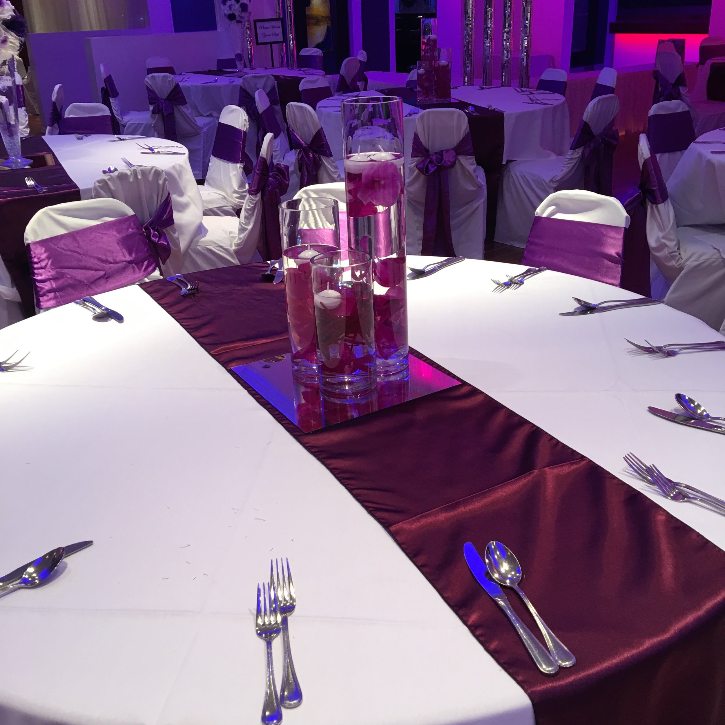 Purple Themed Special Event Decor