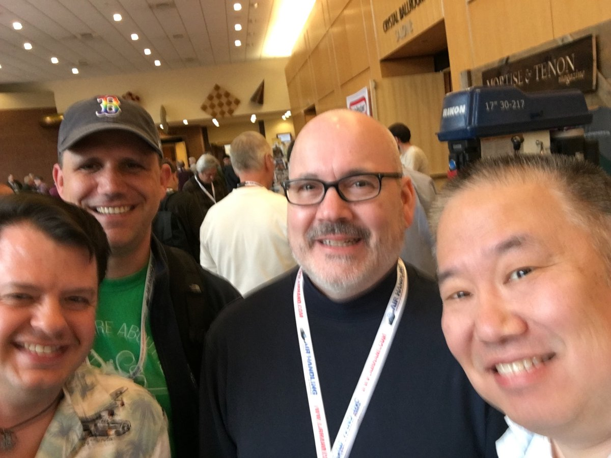 Brian, Dyami, Kyle & Wilbur (L to R)