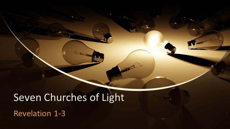 John the Revelator addresses seven churches encouraging them to keep shining the light