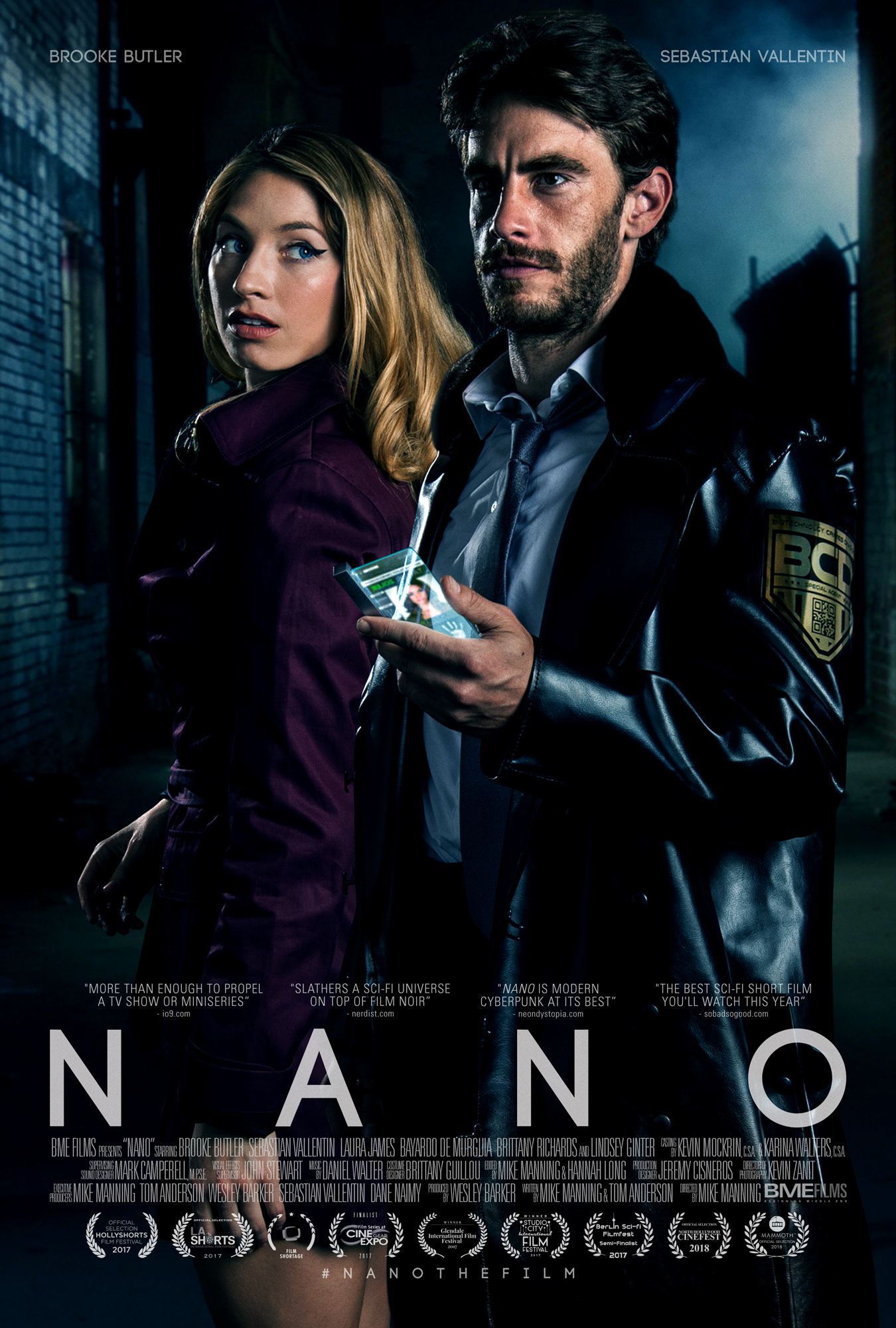"""Nano"" One Sheet - Prestige"