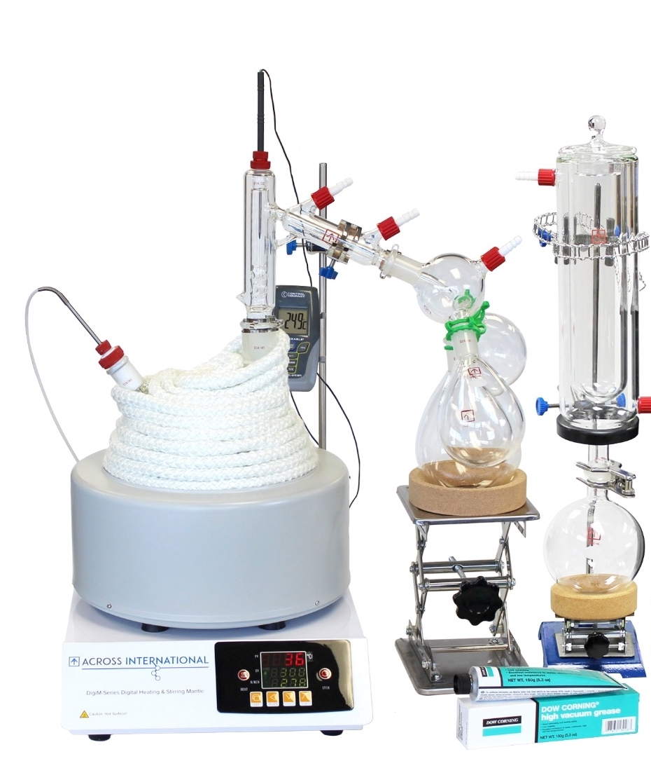 Short Path Distillation Sets