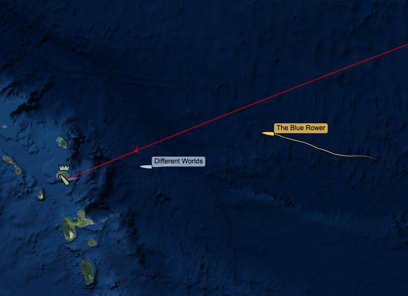 Michelle is nearly there!  Photo credit: YB Tracking Race View