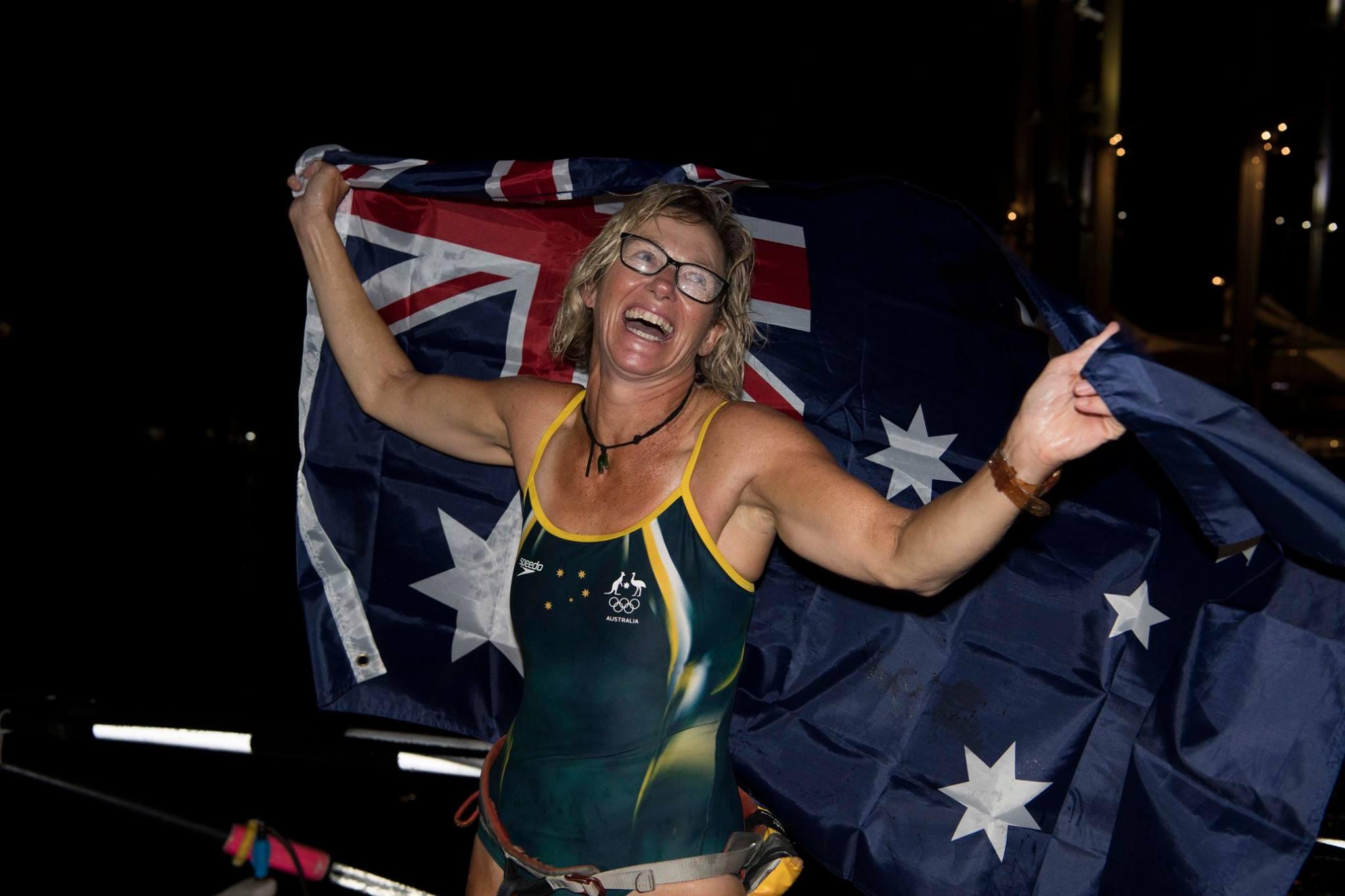 Michelle Lee with Aussie flag.jpg