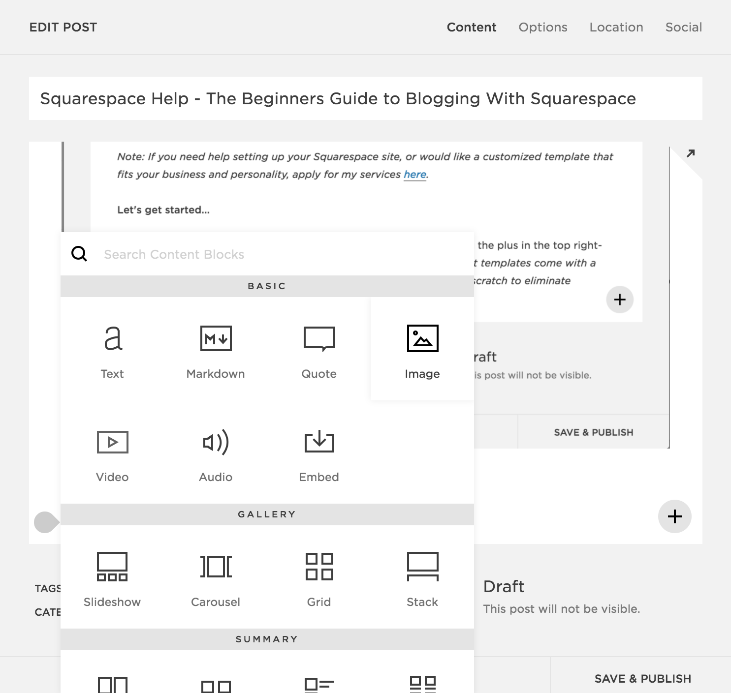 blogging-with-squarespace