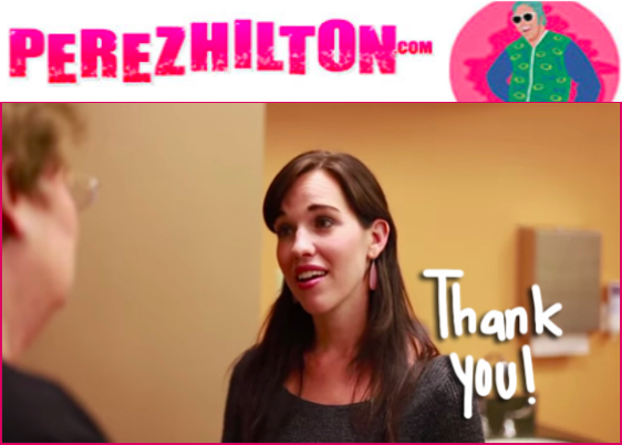 CHECK OUT Kellie ON PEREZ-HILTON