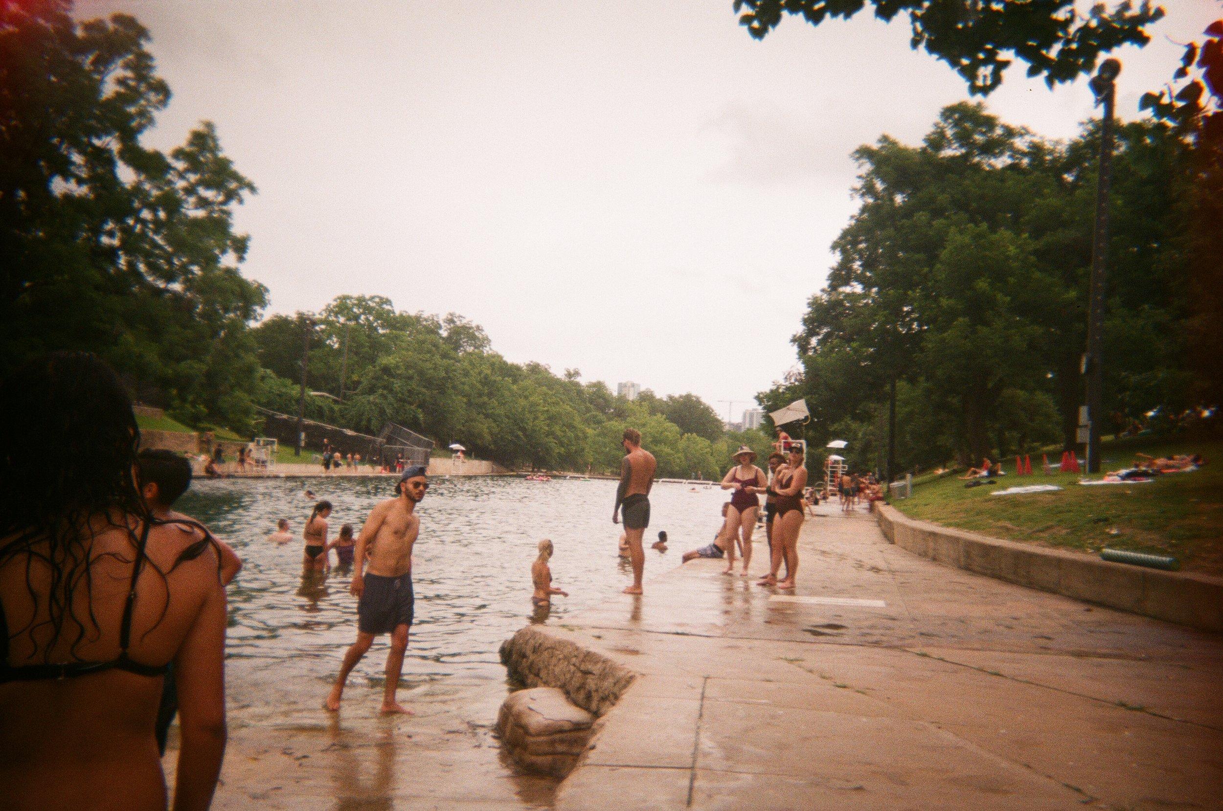 Barton Springs. 35mm.