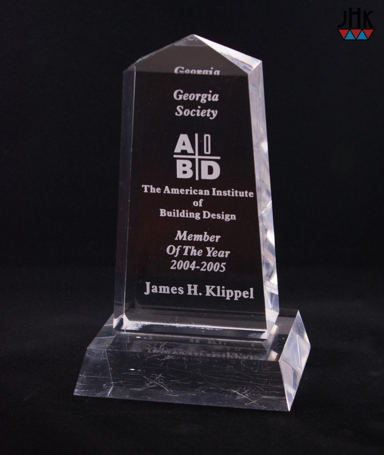 aibd member of the year jim klippel 2005-1.jpg