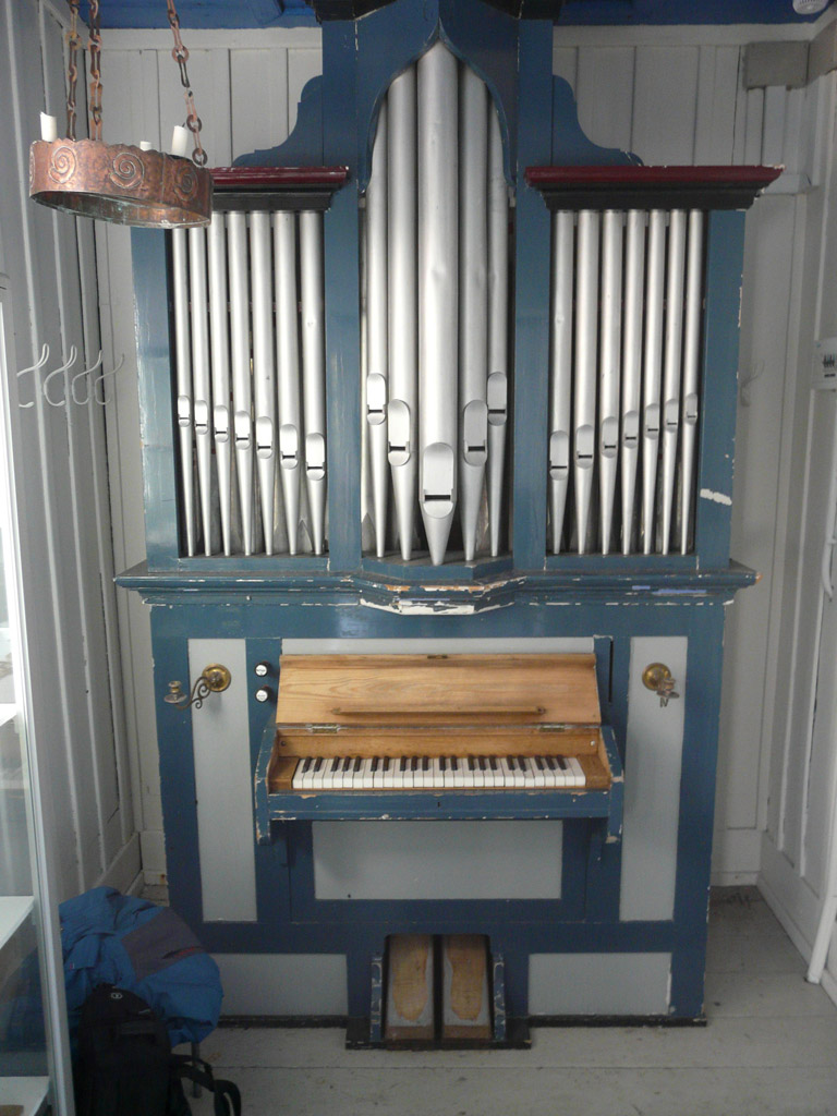 an organ in Old Church, the missing Marcussen?