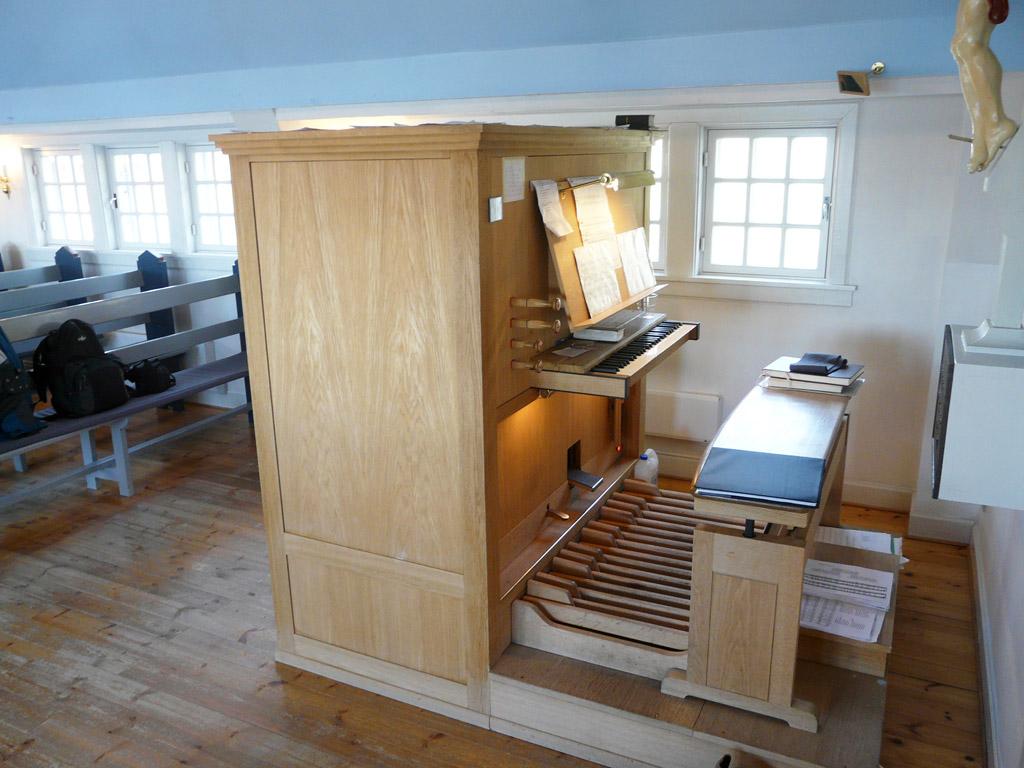New Church Frobenius organ