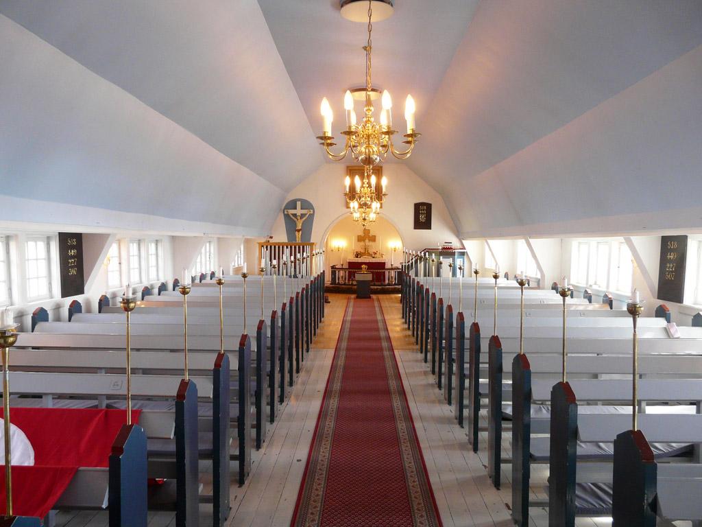 inside New Church
