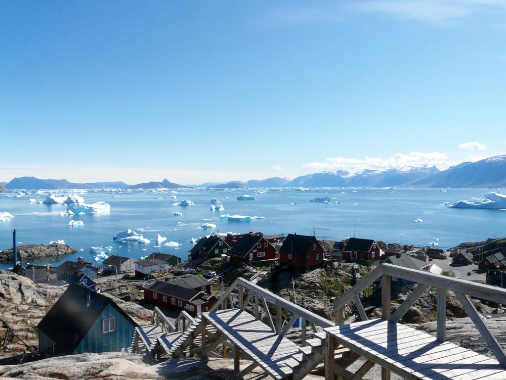 Uummannaq, the sunniest place in Greenland!