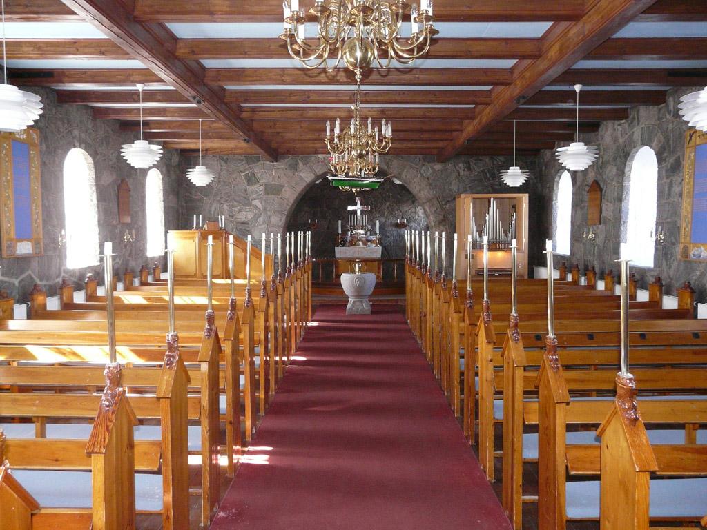 inside Uummannaq Church