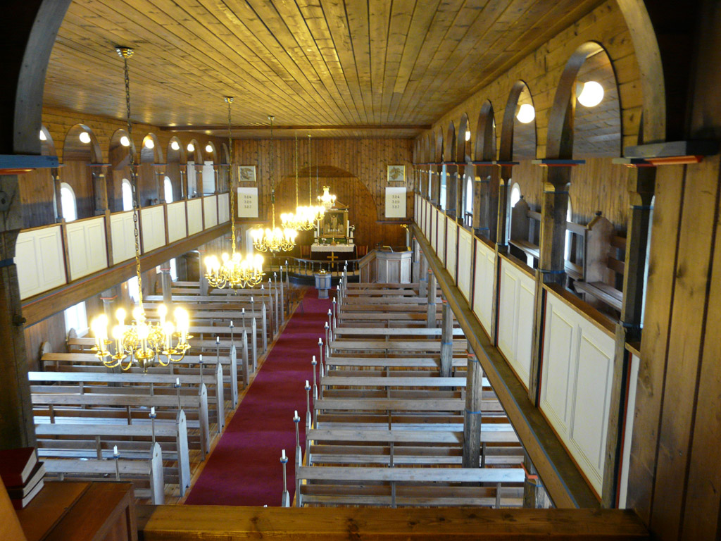 a view from the organ loft
