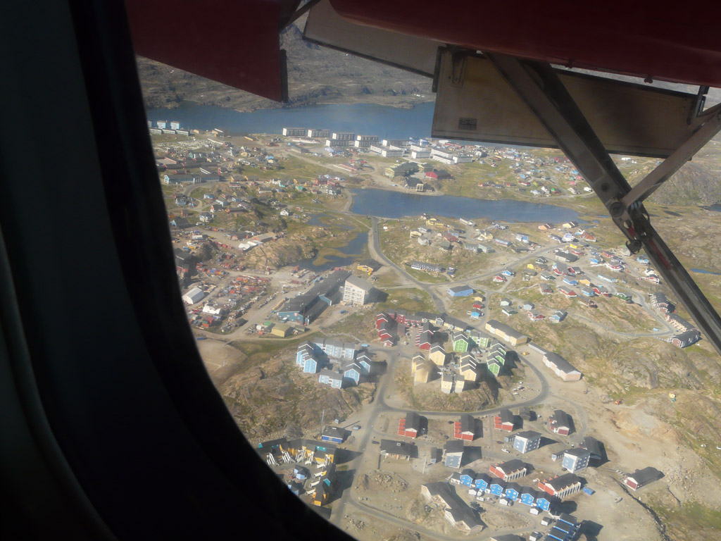 Sisimiut from the air