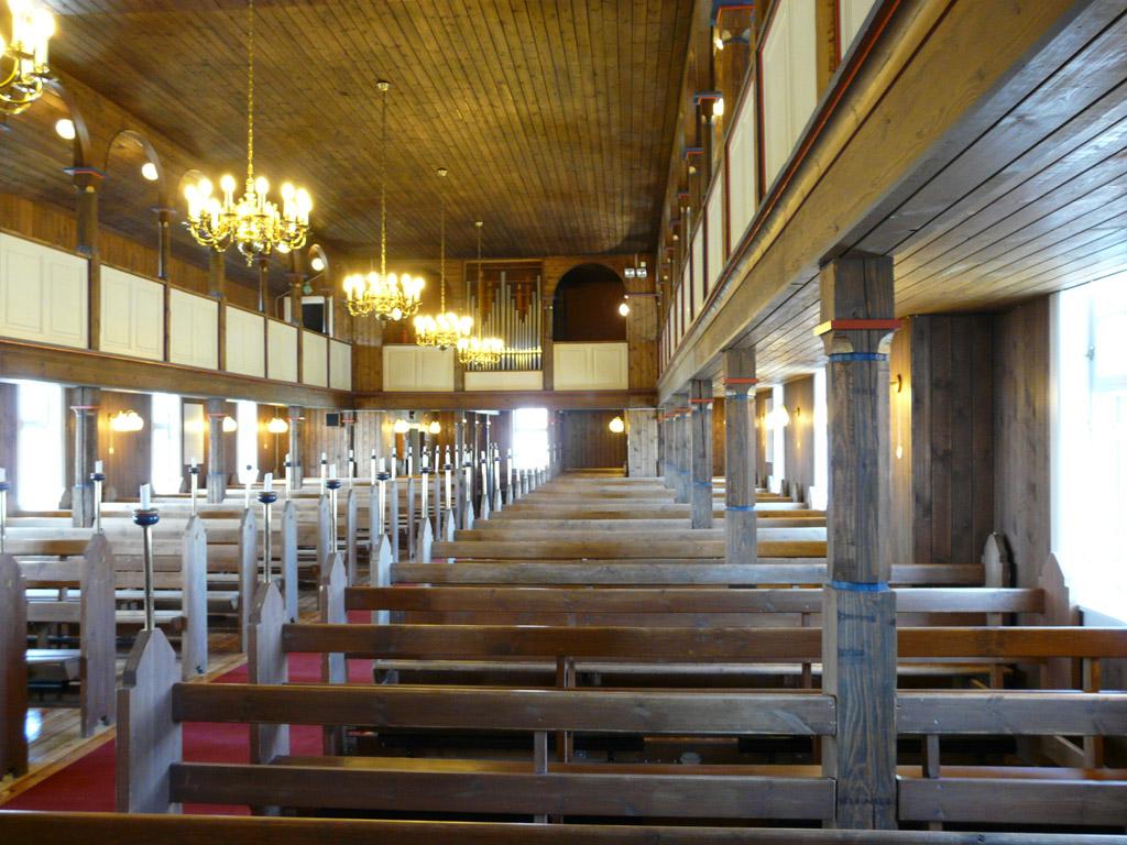 inside Sisimiut Church