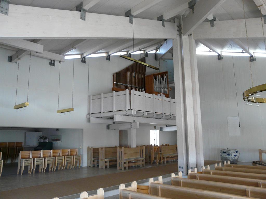 the Frobenius organ in the balcony
