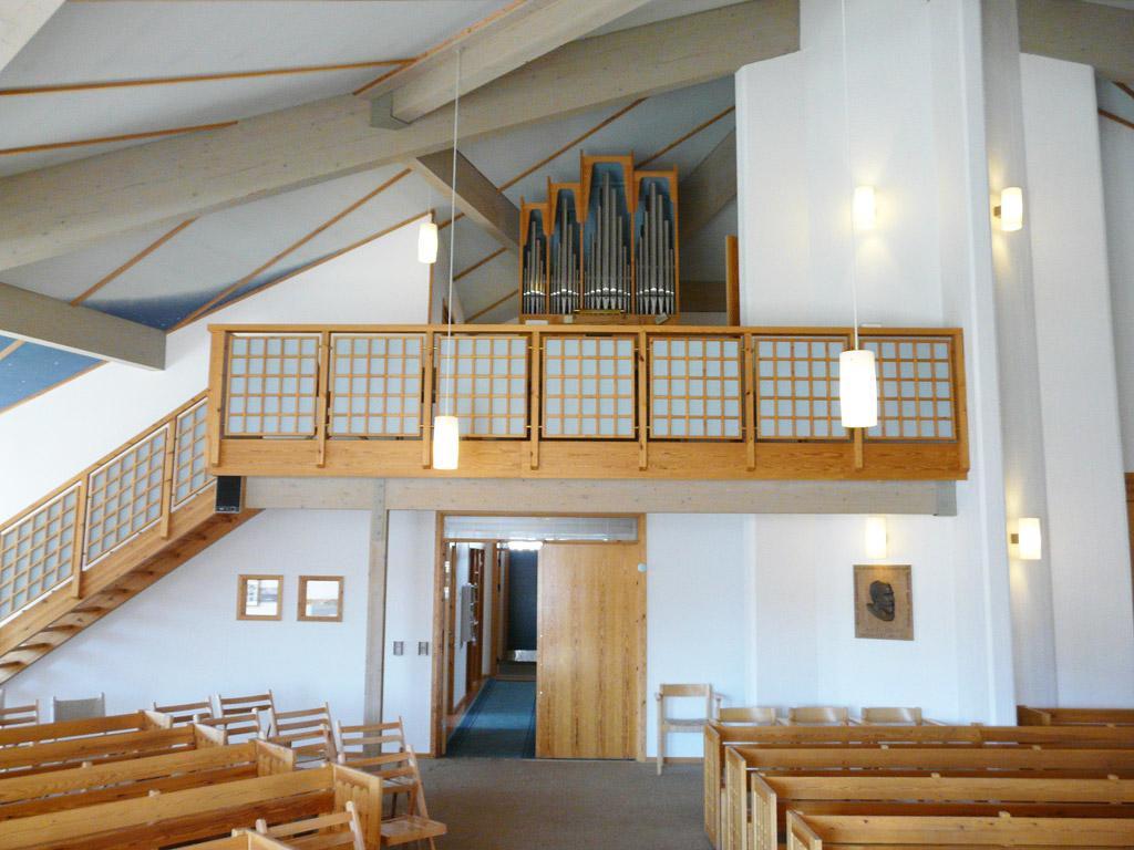 the organ balcony
