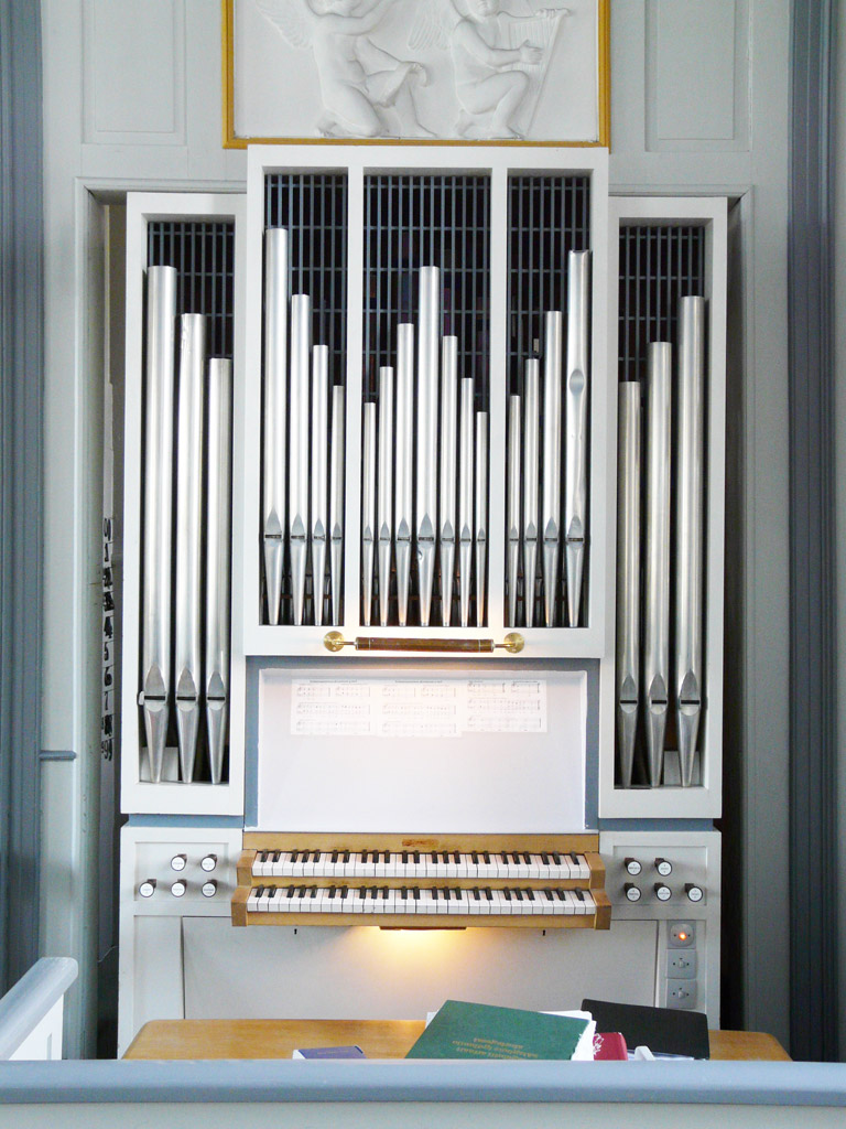Marcussen organ in Church of Our Saviour