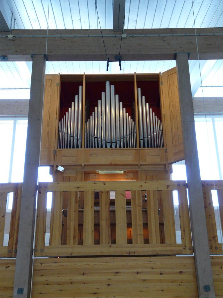 Frobenius organ in Hans Egede's Church