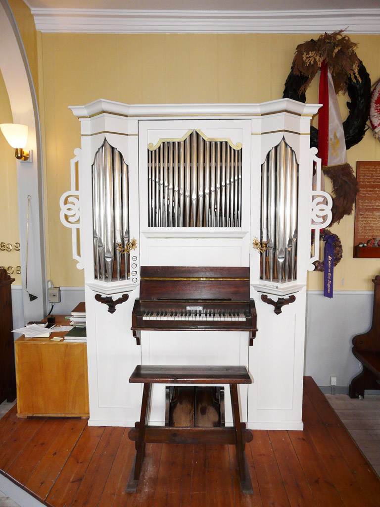 Marcussen organ in the Church of Our Saviour