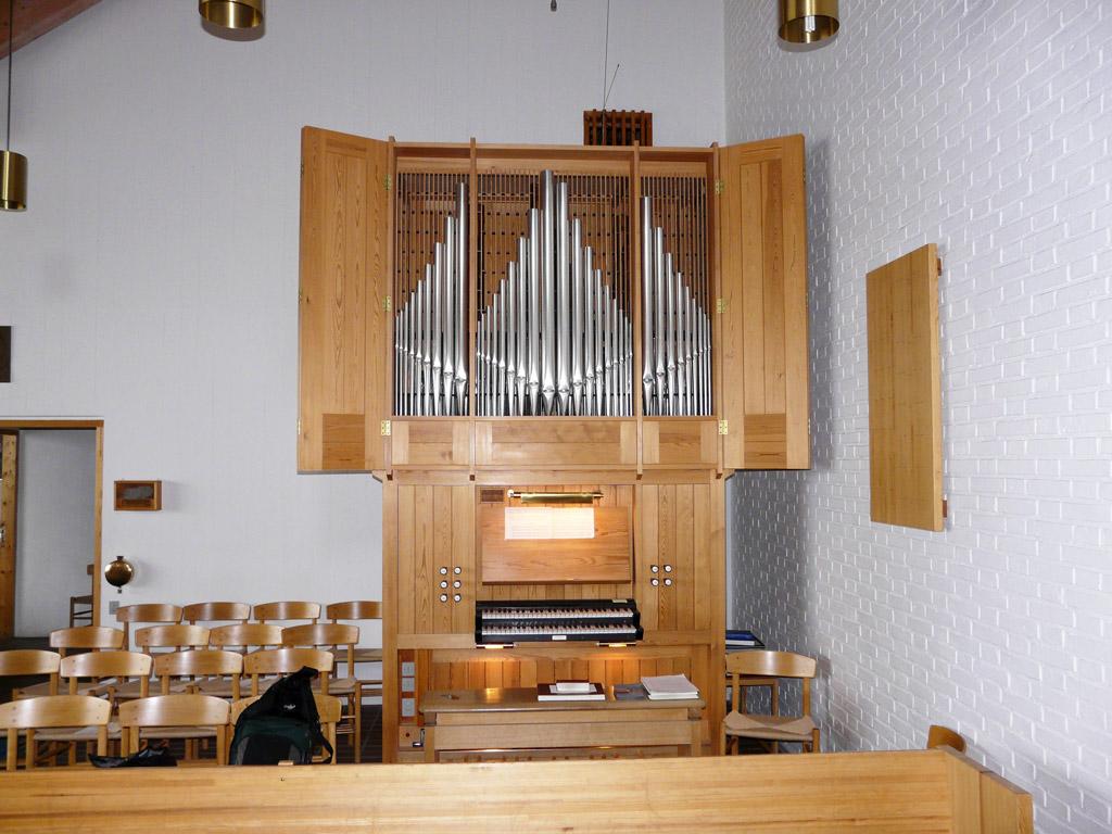 the Frobenius organ in Gertrud Rasch's Church
