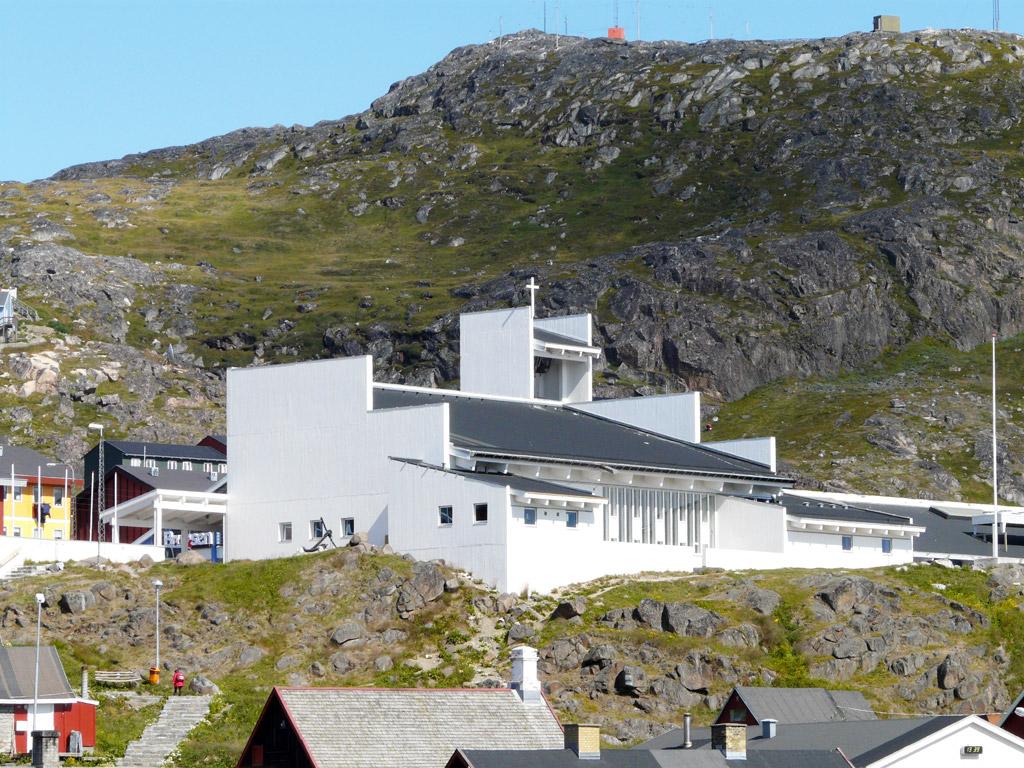 Gertrud Rasch's Church in Qaqortoq