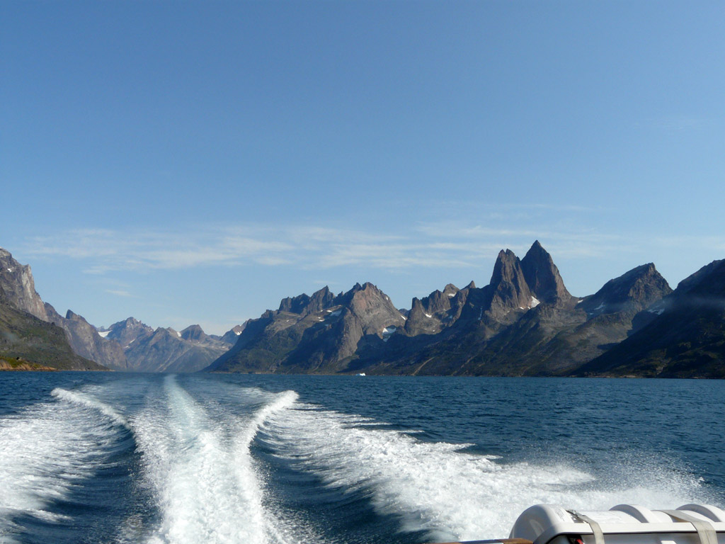 a boat trip through Greenland's epic southern fjords