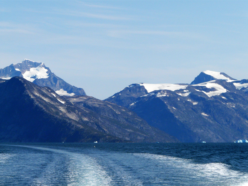 the fjords around the southern tip of Greenland are among the most spectacular on Earth