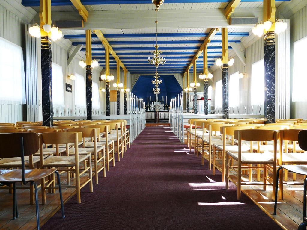 inside Nanortalik Church