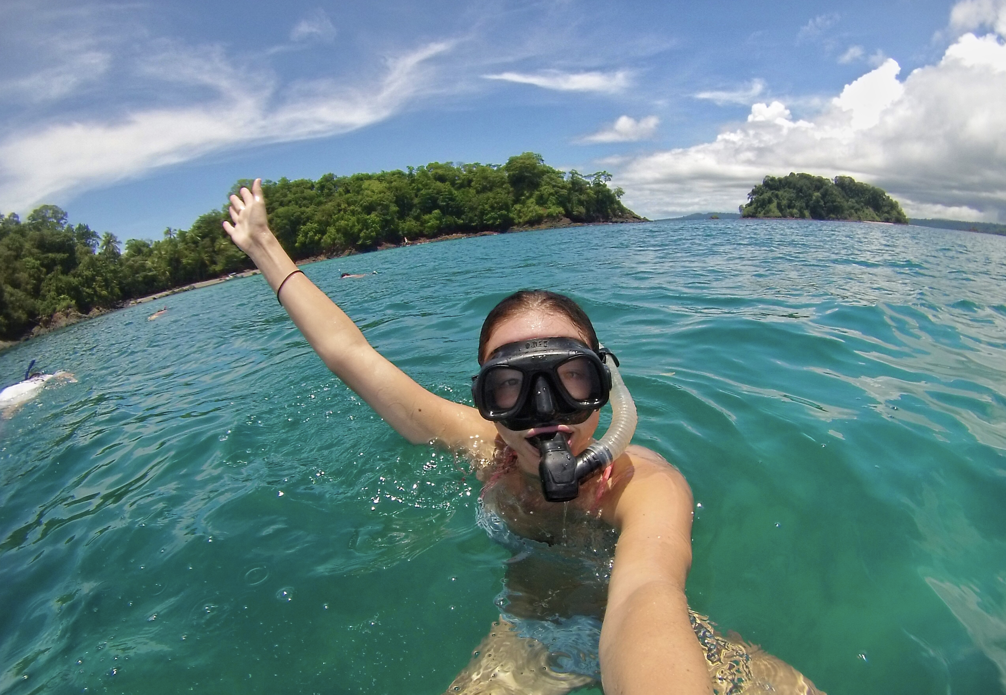 Snorkeling in Coiba Island-hands down one of the highlights of 2017.
