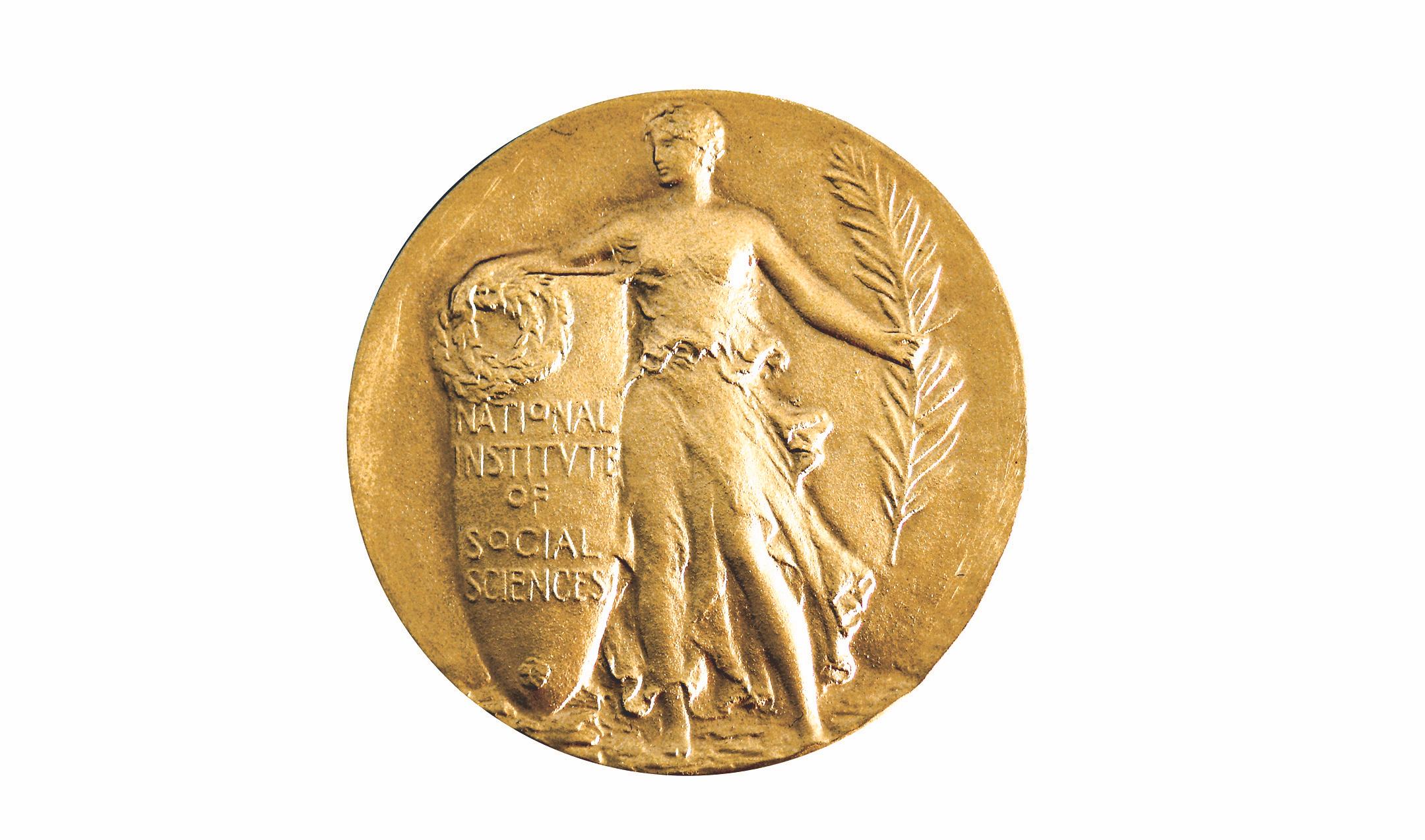 The Gold Medal designed by Laura Gardin Fraser