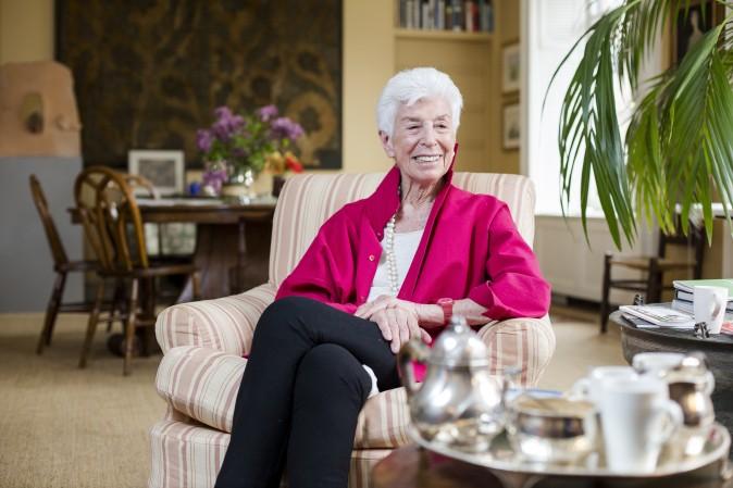 Joan K. Davidson  (Credit: Samira Bouaou/Epoch Times)