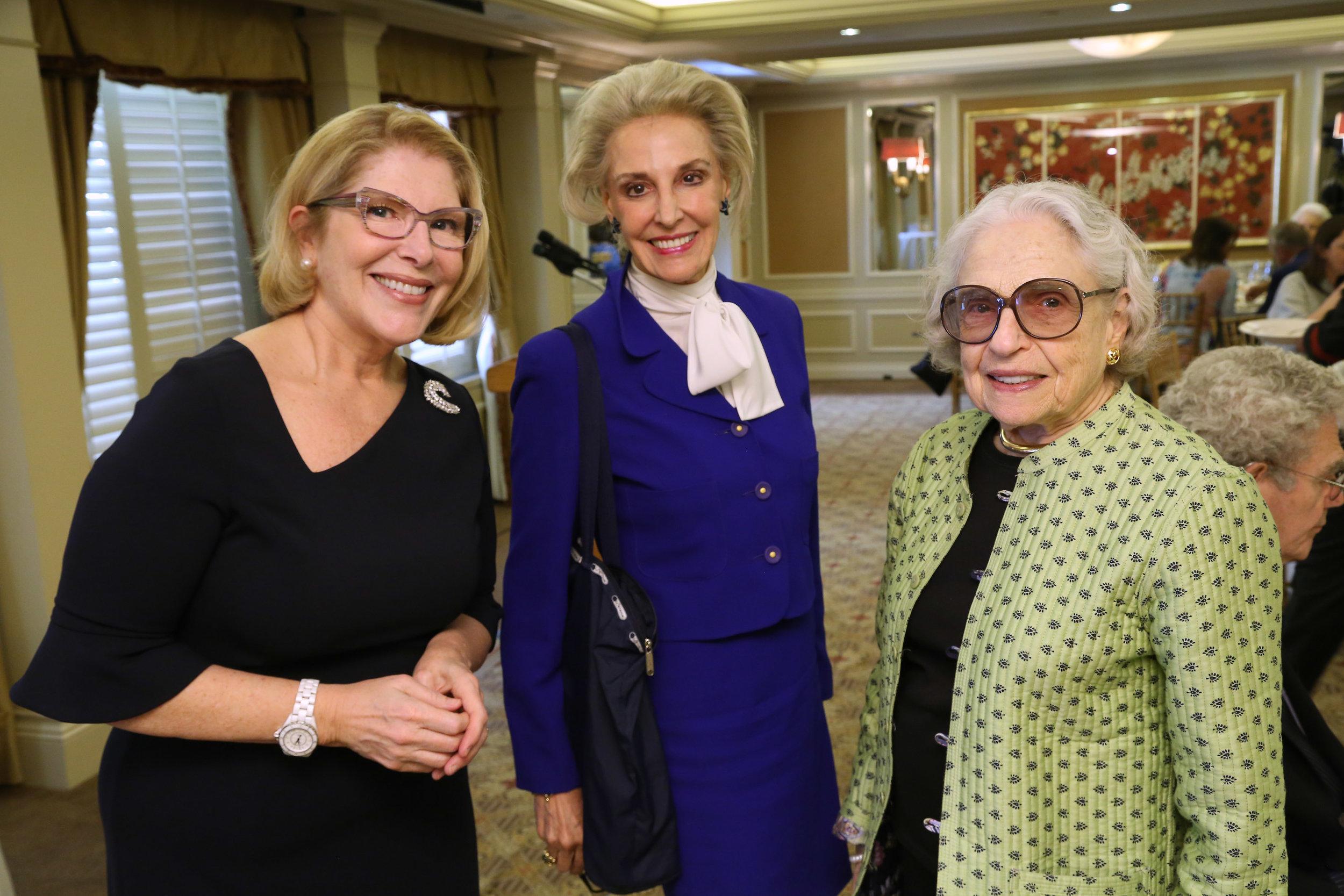 Michelle Larsen, Karen Burke, Geraldine Kunstadter