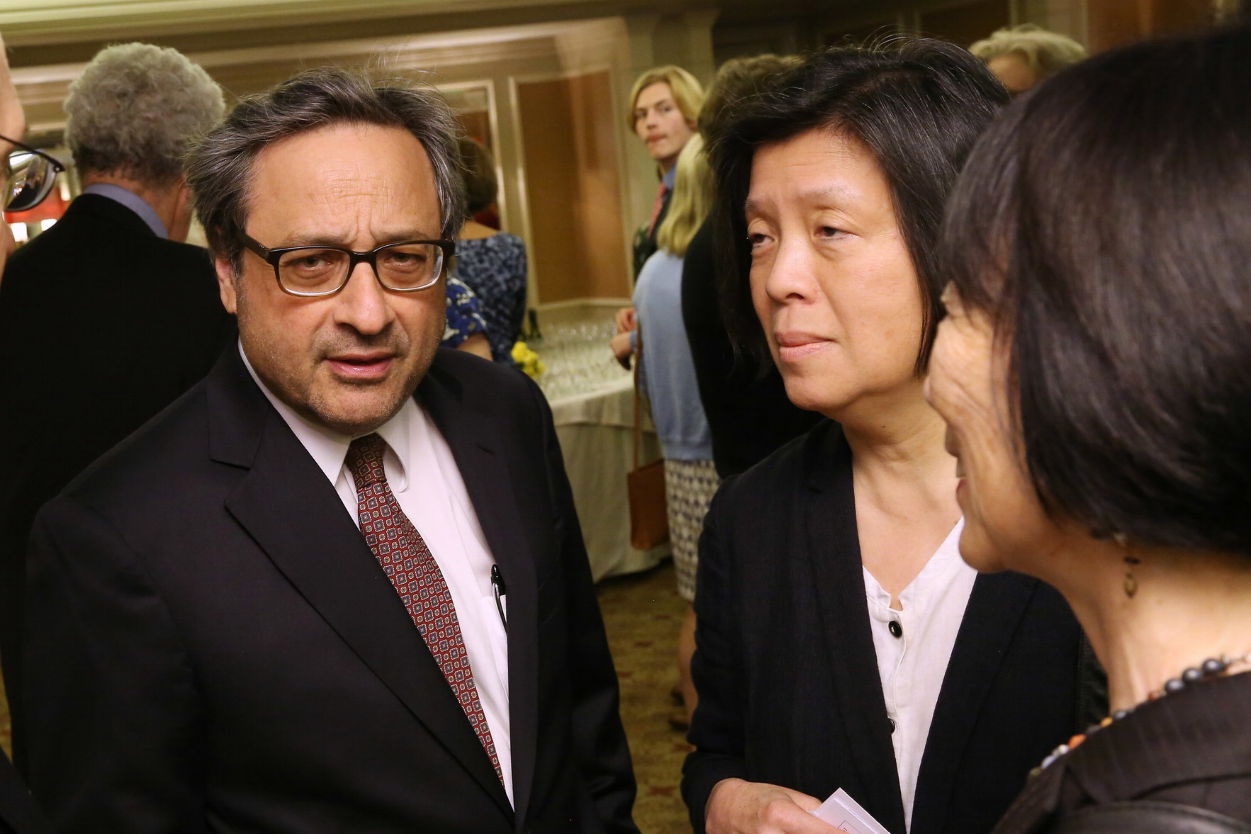 Andrew Delbanco, Dawn Ho Delbanco, Pauline Yu