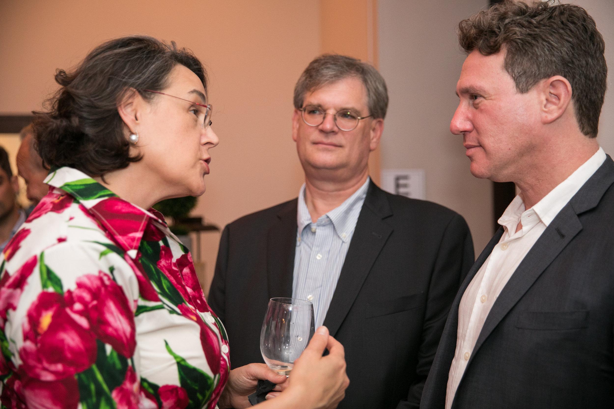 Angela Cason, Rod Hickey, Ron Meyers