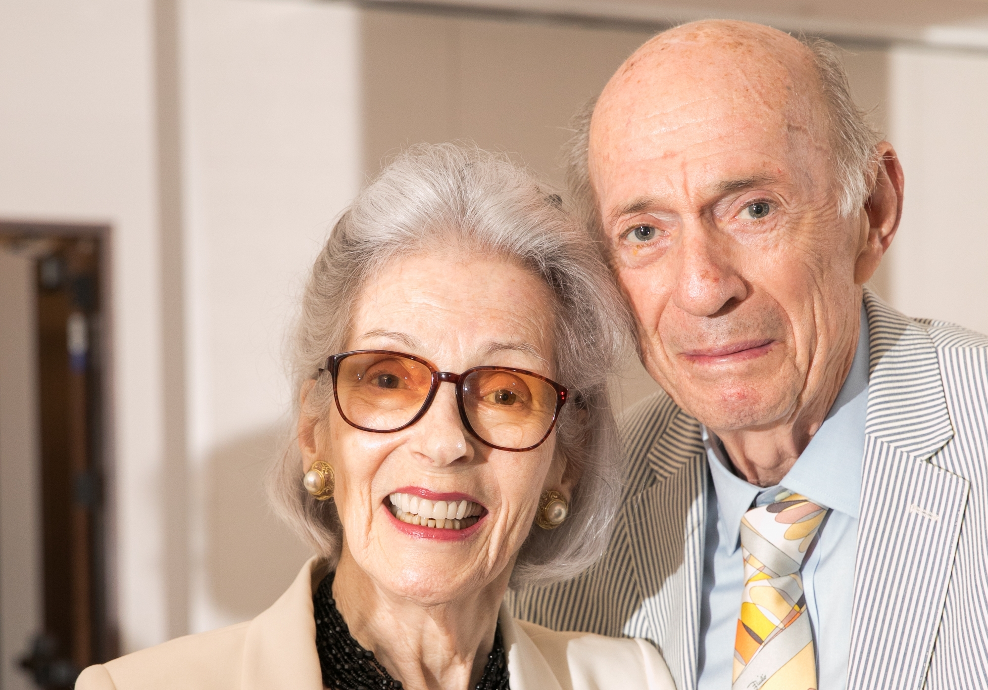 . Barbara and Donald Tober